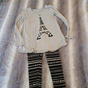 Girl's Justice outfit size 8/10